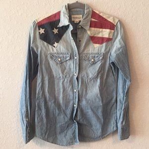 Ralph Lauren Denim & Supply American Flag Shirt